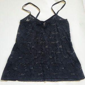 Torrid Black Lace Camisole Large
